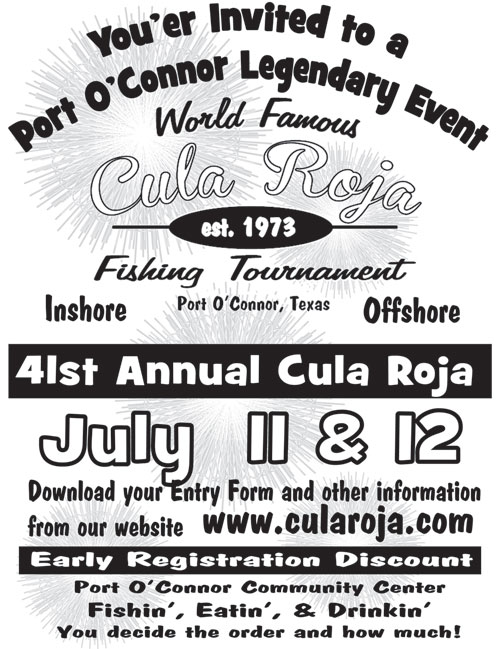 Fishing tournaments dolphin talk port o 39 connor for Port lavaca fishing report